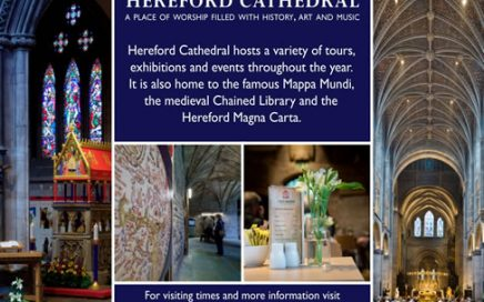Summer at Hereford Cathedral